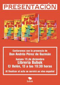 """""""Una pica en glandes"""", presentación en la Librería Bubok"""