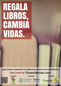 Regala libros, cambia vidas