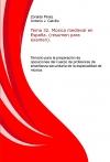 Tema 32. Música medieval en España. (resumen para examen). Temario para la preparación de oposiciones del cuerpo de profesores de enseñanza secundaria de la especialidad de música.