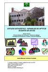 Estudio Estadístico Variables Aptitud Docente en un IES