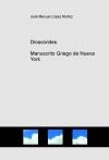 Dioscórides. Manuscrito Griego de Nueva York