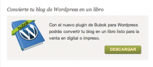tus posts de WordPress en un libro- Bubok