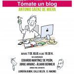 «Tómate un blog», entrevista a Antonio Sáenz de Miera