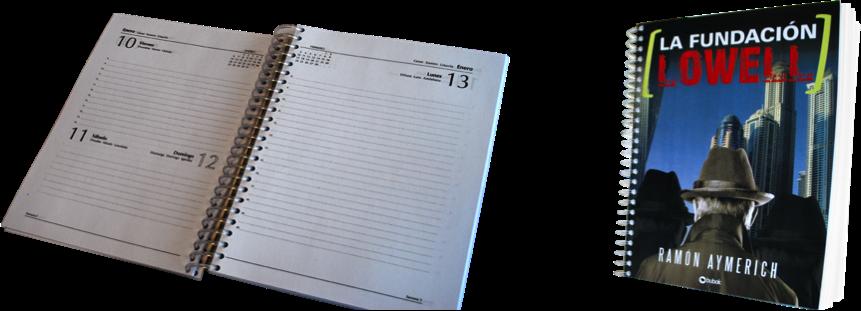 Consigue la agenda 2015 con la portada de tu libro