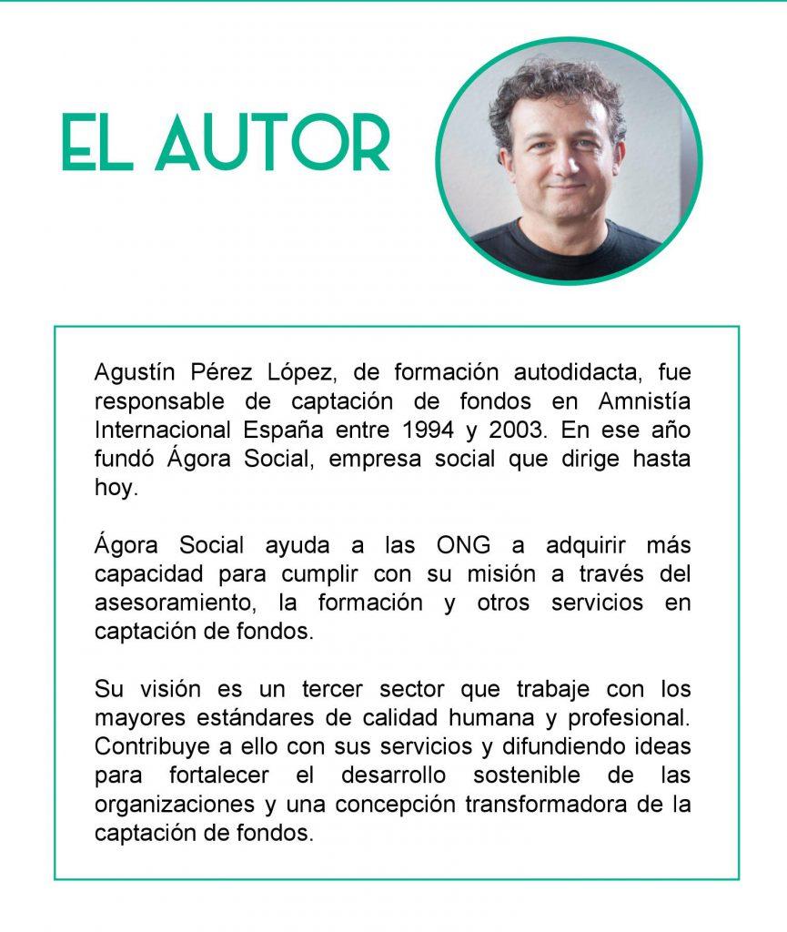 Captación de fondos – Entrevista a Agustín Pérez López