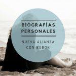 BIOGRAFÍAS PERSONALES y BUBOK,  unidos para crecer