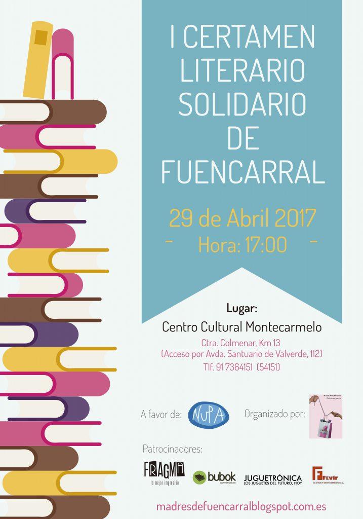 Bubok patrocina el I Certamen Literario Solidario de Fuencarral