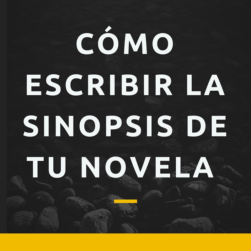Cómo escribir la sinopsis de tu novela - Bubok