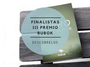 Lista de finalistas del III Premio de Creación Literaria Bubok