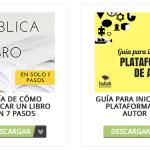 Descarga nuestras guías gratuitas para publicar tu libro