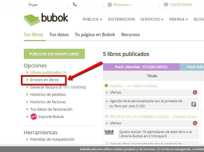 Con la nueva detección de errores, imprime tu libro sin problemas