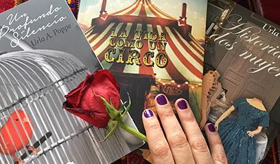 Urla Poppe presenta su trilogía romántica