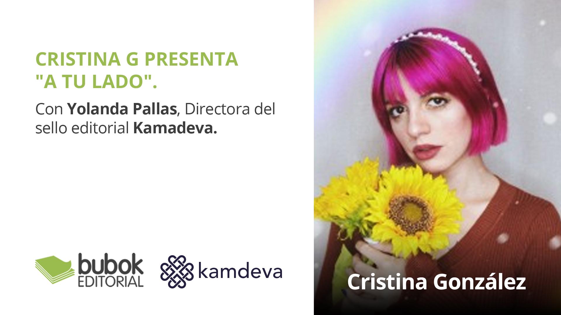 Cristina G presenta