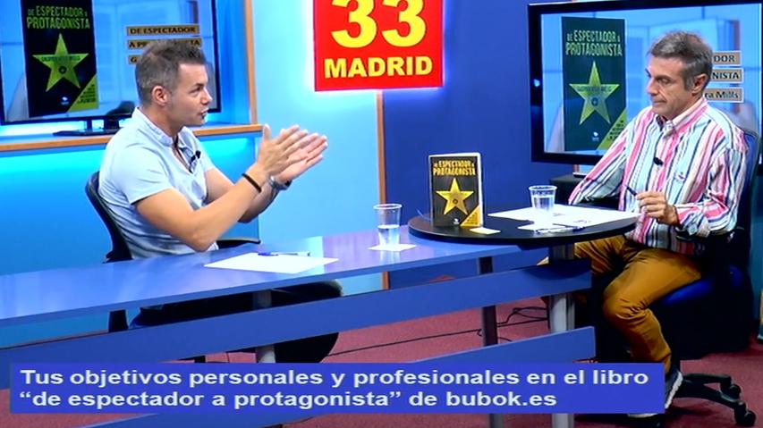 Entrevista a Gaspar Vera en Canal 33