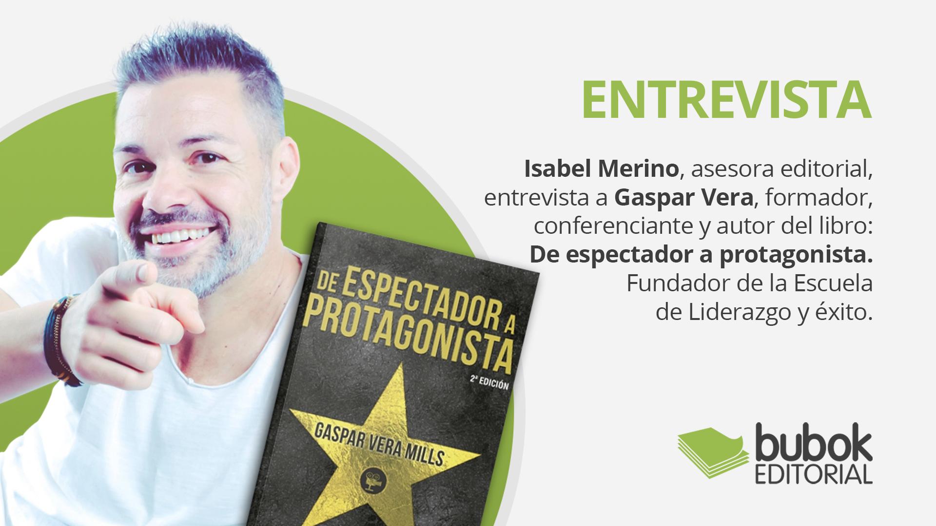 Entrevista a Gaspar Vera, escritor y fundador de la escuela Liderazgo y Éxito