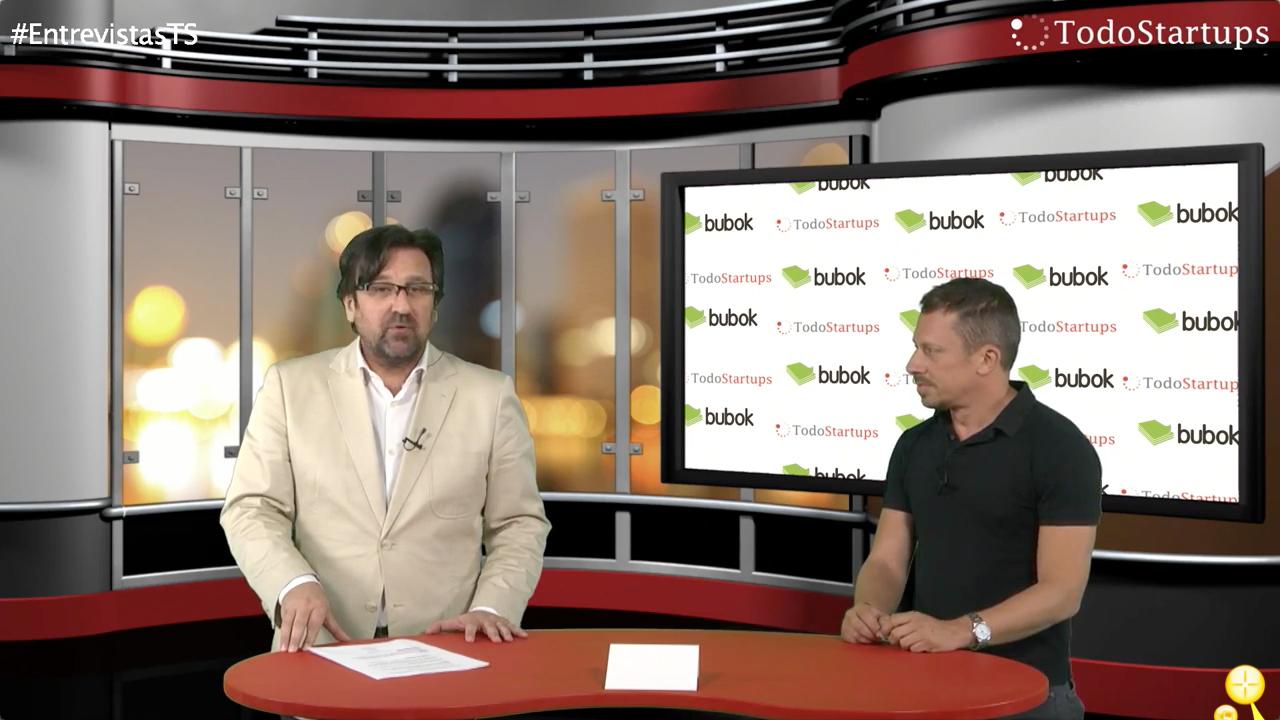 Entrevista TodoStartups TV: Bubok, cuando la letra, con 'libros' entra