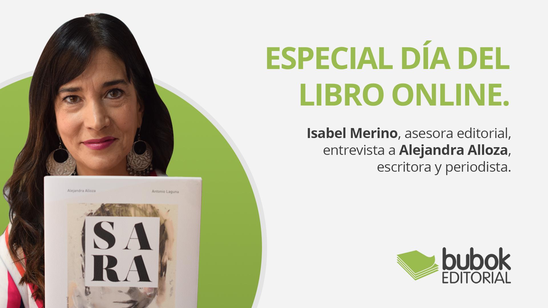 Especial día del Libro. Entrevistamos a la periodista y escritora Alejandra Alloza