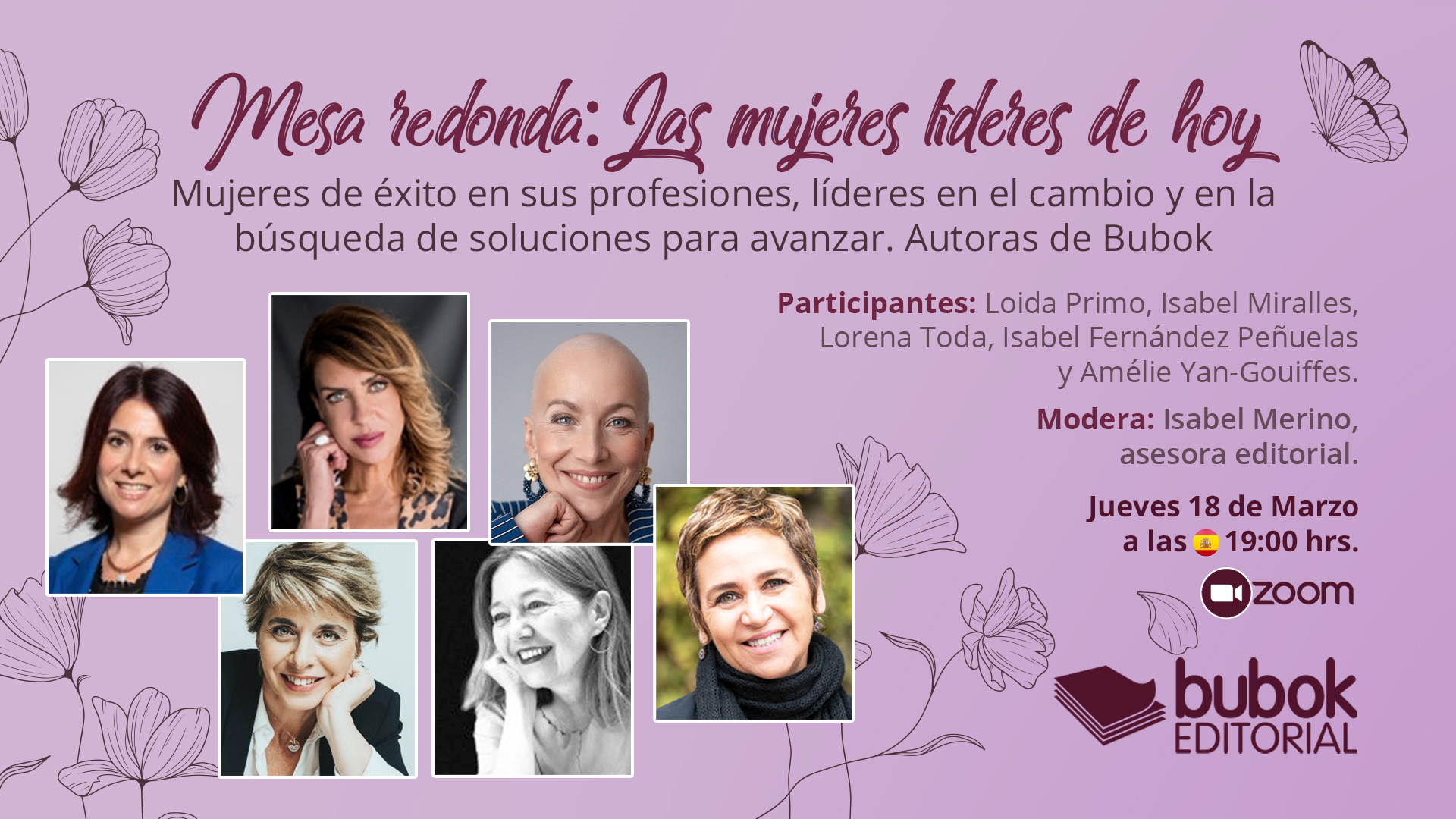 Las mujeres líderes de hoy: mesa redonda moderada por Isabel Merino