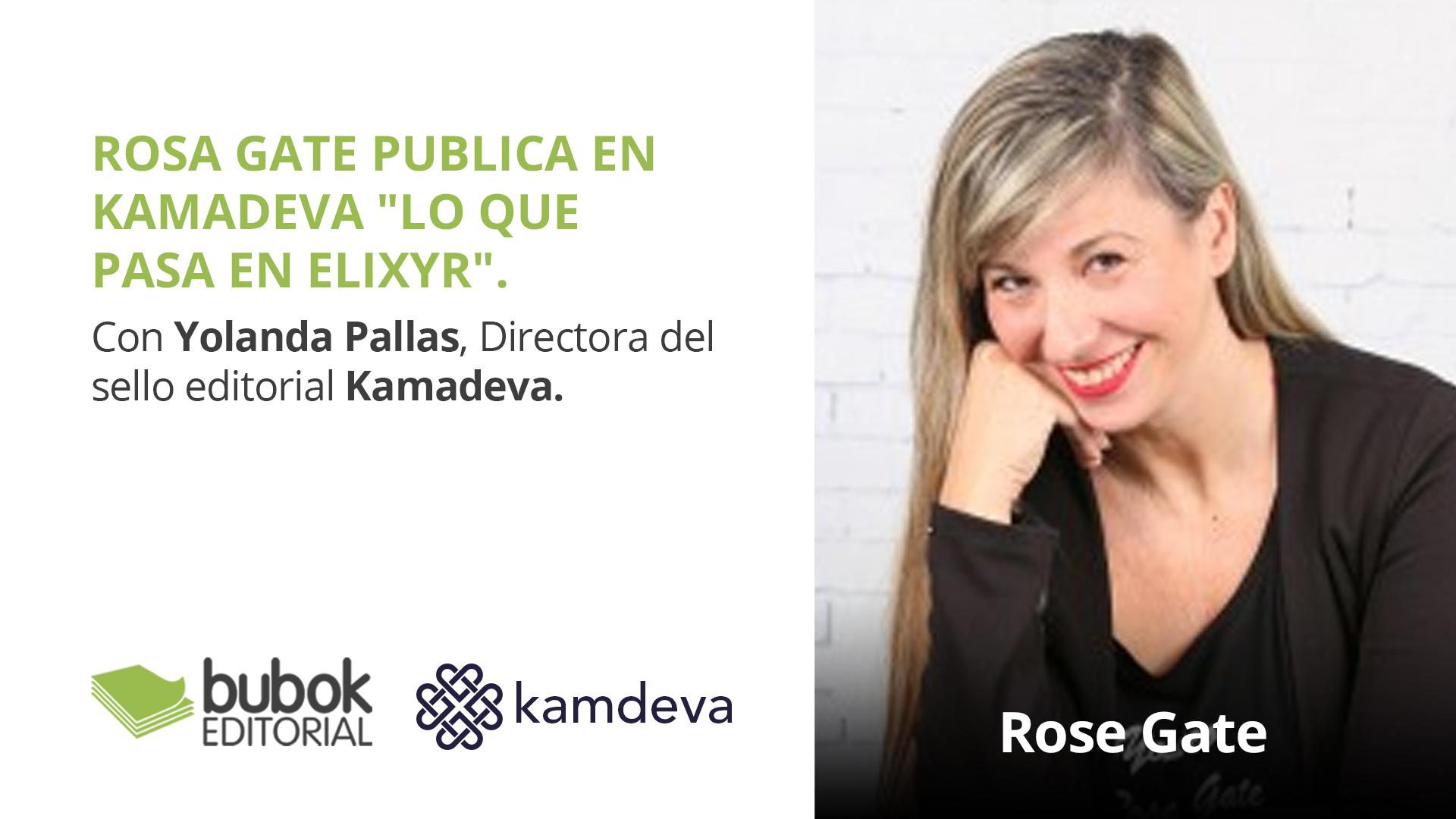 Rosa Gate publica en Kamadeva