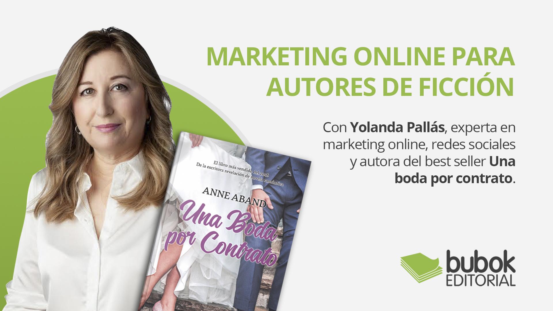 Marketing online para autores de ficción