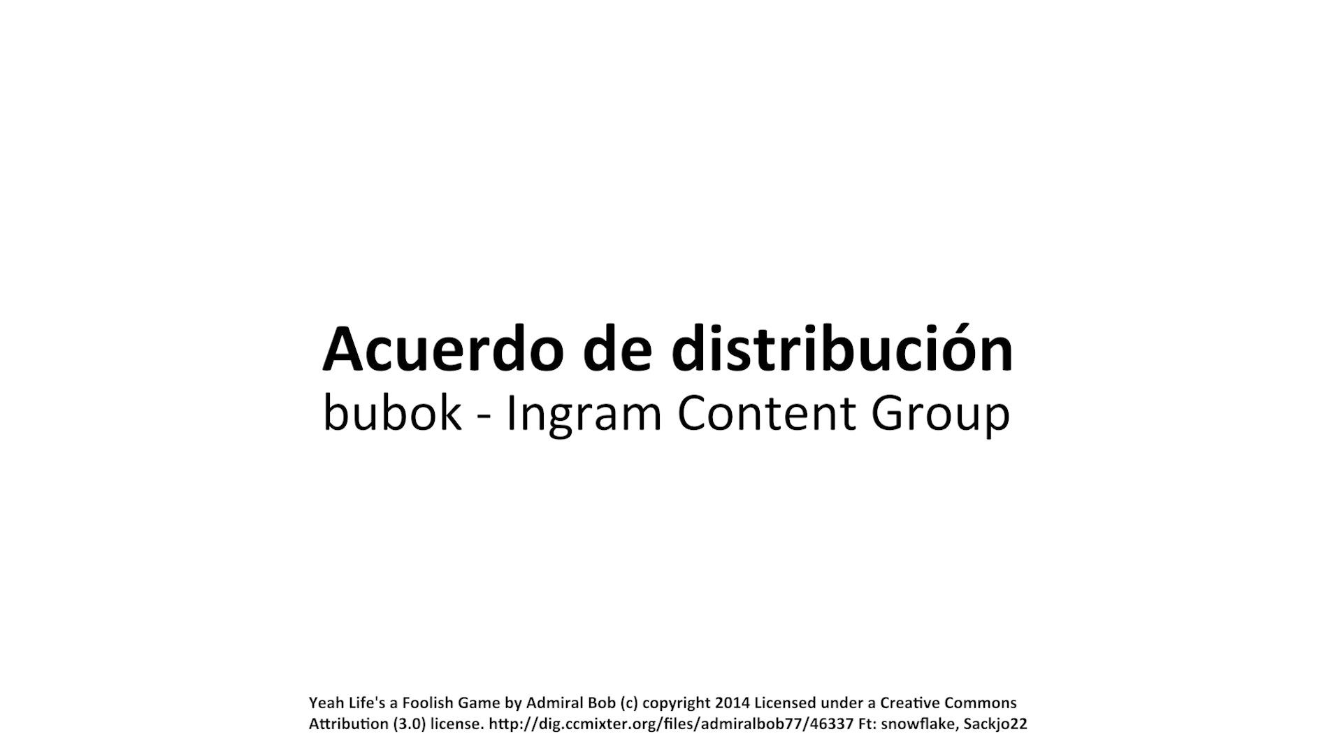 Nuevo acuerdo de distribución con Ingram