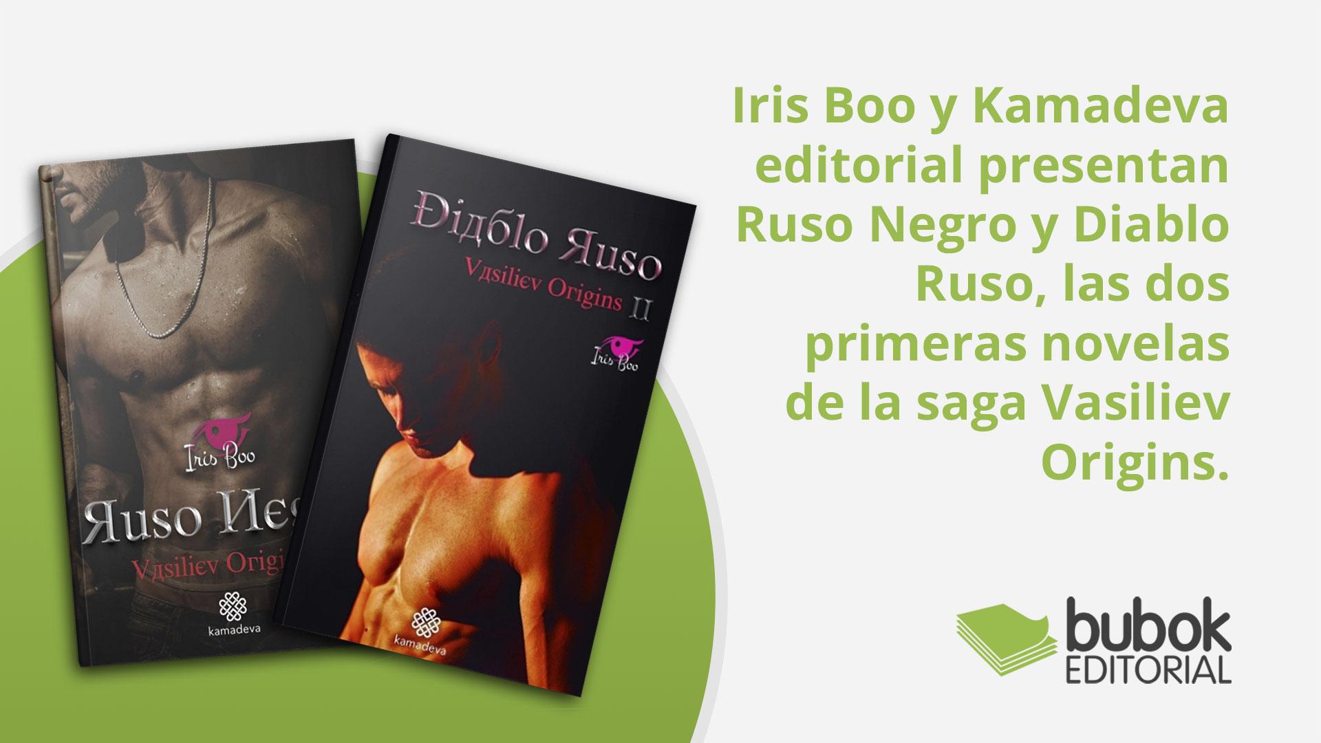 Ruso Negro y Diablo Ruso, las dos primeras novelas de la saga Vasiliev Origins.