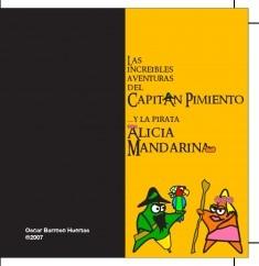 Las Increíbles Aventuras del Pirata Pimiento y la princesa Alicia Mandarina
