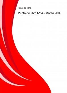 Punto de libro Nº 4 - Marzo 2009