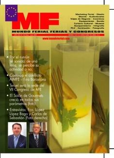 Revista Mundo Ferial Ferias y Congresos Nº 150 Mayo-Junio 2009