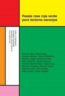 Poesía rosa roja verde para lectores naranjas