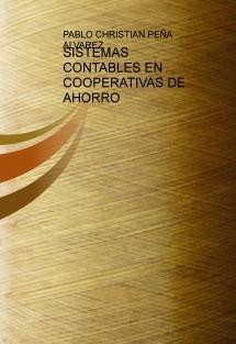 SISTEMAS CONTABLES EN COOPERATIVAS DE AHORRO
