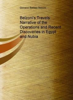 Los viajes de Belzoni