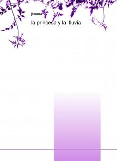 La princesa y la lluvia