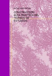 CONSTRUCCION : GUIA PRACTICA DEL TECNICO DE ESTUDIOS