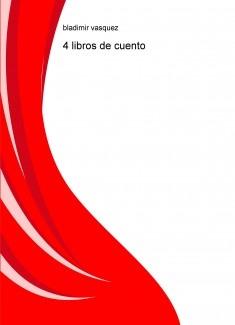4 libros de cuento