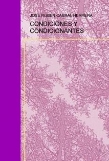 CONDICIONES Y CONDICIONANTES