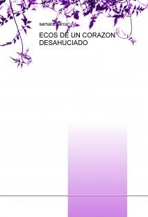 ECOS DE UN CORAZON DESAHUCIADO