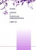RAXMA CARTAS Y PLANTILLAS ARMONIZADORAS LIBRO 42