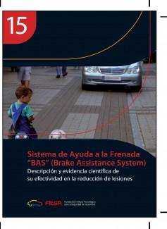 """Sistema de Ayuda a la Frenada """"BAS"""". Resumen 15ª Evidencia científica"""