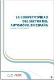La competitivad del sector del automovil en España