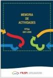 Memoria de actividades FITSA 2001-2006