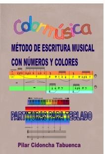 Colormúsica. Partituras para teclado