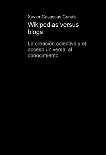 Wikipedias versus blogs