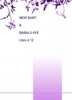 NEW SANT. & BABALU AYE Libro 4.12