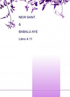 NEW SANT. & BABALU AYE Libro 4.11