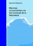 Máximas concernientes a la Sal Universal de la Naturaleza