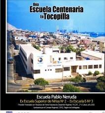 Una Escuela Centenaria en Tocopilla, 1909-2009.