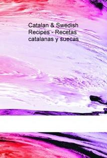 Catalan & Swedish Recipes - Recetas catalanas y suecas