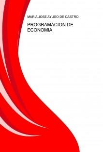 PROGRAMACION DE ECONOMIA