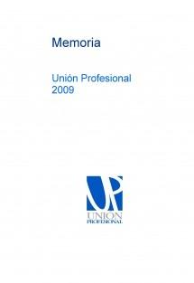 Memoria Unión Profesional 2009